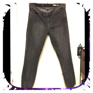 Gap 1969 30R ( 10 R )  black skinny Jean